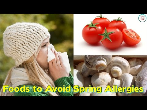 7 Foods to Avoid if You Have Spring Allergies