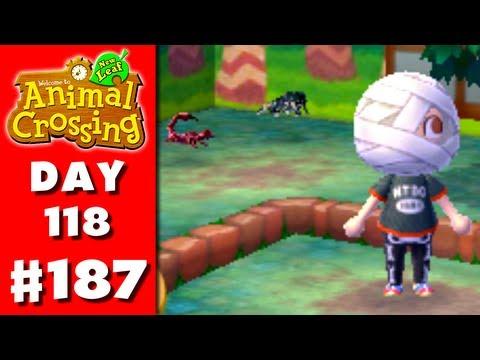 Animal Crossing: New Leaf - Part 187 - Bug Fight! (Nintendo 3DS Gameplay Walkthrough Day 118)