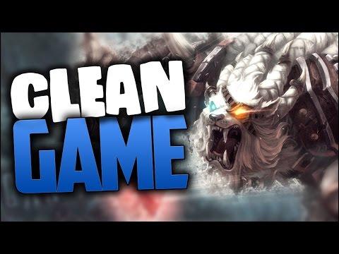 CLEAN GAME - Jungle Rengar Rework Gameplay