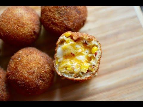 Potato Cheese Corn Balls Recipe | Cheese Corn Balls Recipe | Easy and Quick Starter