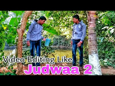 How to Make Double Role Video On Android Mobile? Like Judwaa 2 Movie || Magical Video Editing