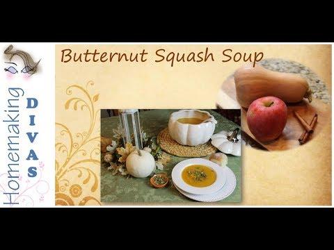 Butternut Squash Soup - Freezer Recipe