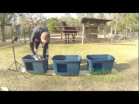 Easy to Make Nesting Boxes for Chickens - Chicken Egg Laying Boxes - Chicken Egg Production