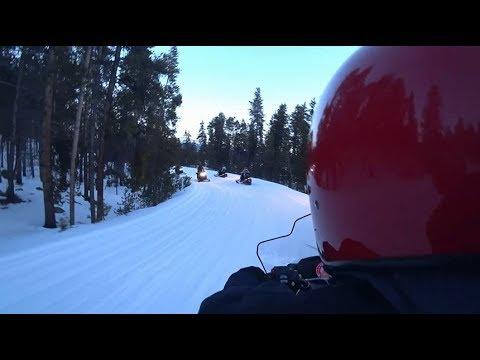 Snowmobiling in Colorado | Winter 2018