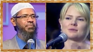 Christian Sister Accept Islam After She Got Her 2 Answer - Dr. Zakir Naik