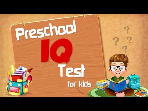Preschool IQ Test For Kids - iOS/Android Gameplay Trailer By Gameiva
