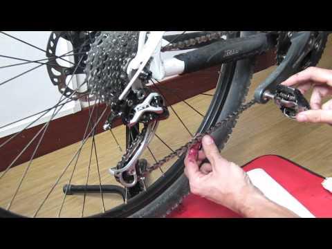 How to Clean & lube bike Chain and Drivetrain, maintenance bike (winter or wet wheather)