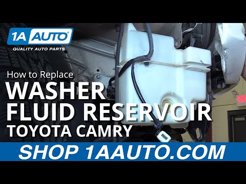 How to Replace Install Washer Fluid Reservoir 98 Toyota Camry