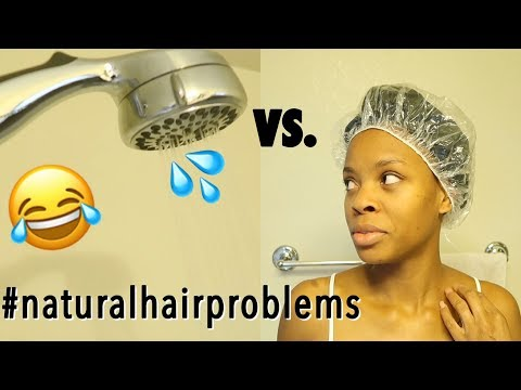 NATURAL HAIR VS SHOWER