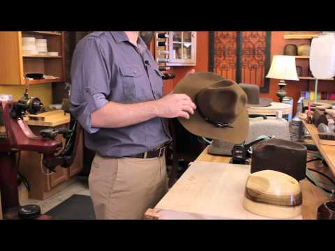How to Starch a Felt Hat : Felt Hats
