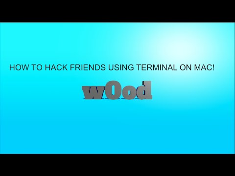 How To Prank Friends by Remotely Accessing Their Computer Using Terminal on Mac!
