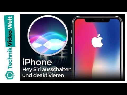 iPhone Hey Siri ausschalten und deaktivieren