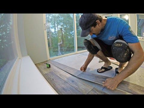Install Engineered Vinyl Plank Flooring, Vid # 12