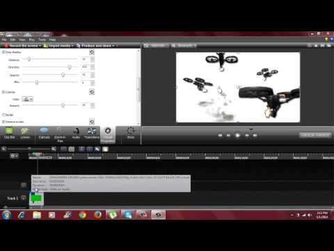 How to make an action movie fx using Camtasia Studio