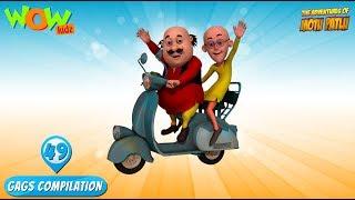 Motu Patlu - Funny Gags #49 - 1 hour episodes!