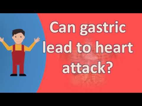Can gastric lead to heart attack ?  | Your Health FAQS