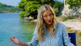"MAMMA MIA! 2 Here We Go Again ""Sophie"" Amanda Seyfried On Set Interview"
