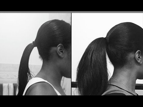 Natural Black Hair Growth with Home Remedies & Exercise.