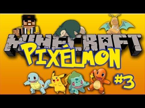 Minecraft Pixelmon #3 with Jtunes  - Leveling and Pokeballs!