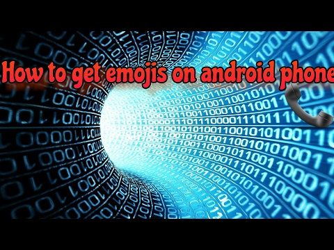 How to get emojis on android phone!!👍