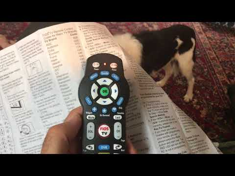 Verizon FiOS how to program remote for volume on your TV Samsung