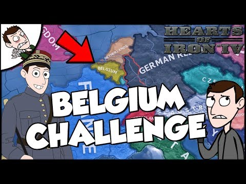 France Tries to Make a New Empire Challenge Hearts of Iron 4 hoi4