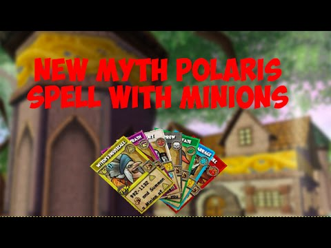 Wizard101: New Polaris Myth Spell-Witch's Housecall (ALL MINIONS)