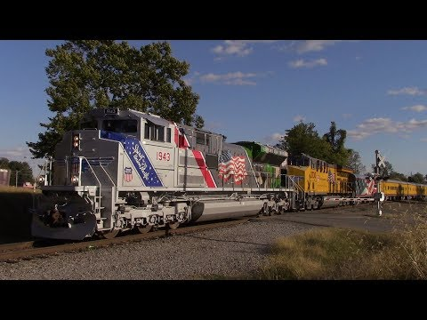 Semester 3: Weeks 9/10 Railfanning with UP 1943! 10-15/19/24/28-17
