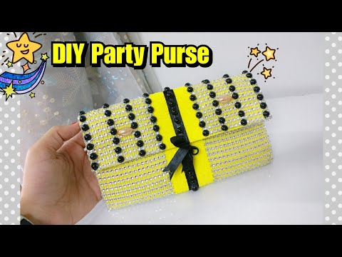 How to make Party Purse - No Sew | DIY Party Purse