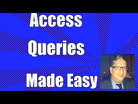 Access 2016 Queries  - How to Create a Query in Microsoft Access 2007, 2010, 2013, 2016 Tutorial