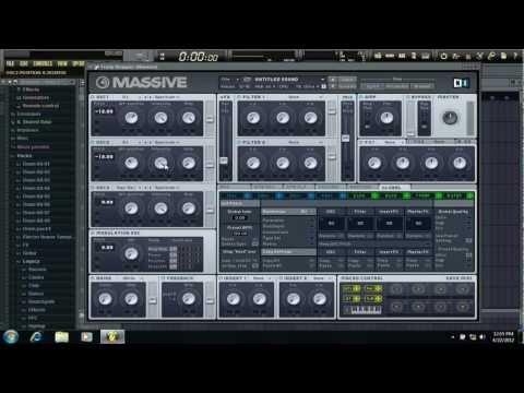NI Massive: How to make a Yoi/Yaya Bass like Skrillex