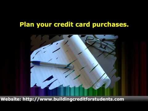 How to Build Credit History While In College