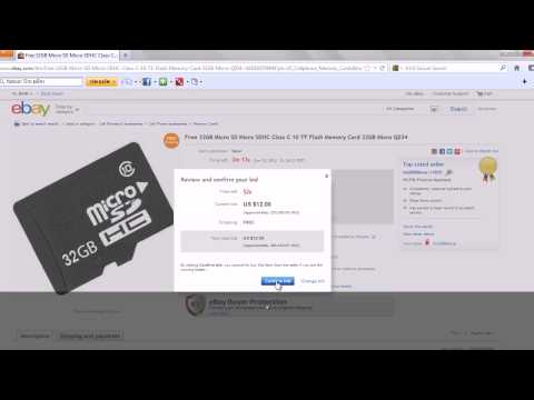 How to buy from ebay - Last mimute bid give you better chance