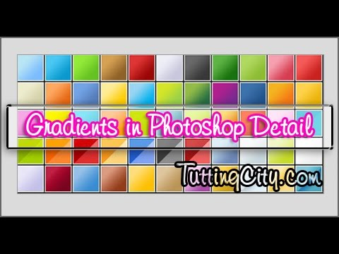 Gradient Tool in Photoshop Complete Detail