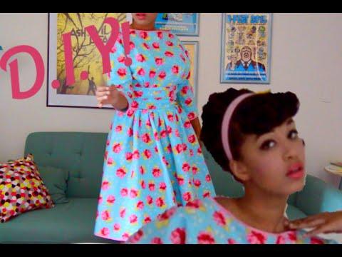 Betsey Johnson inspired retro dress
