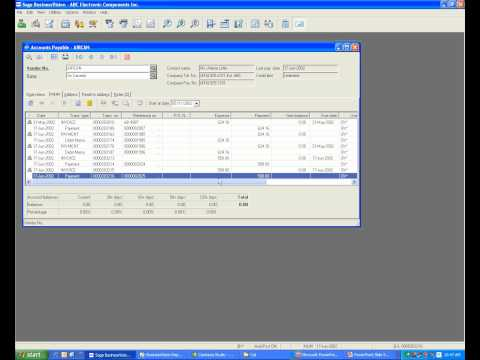 How to use Instant Cheque in Sage BusinessVision