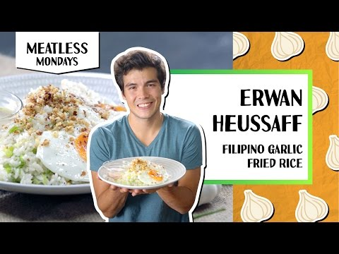 Filipino Garlic Fried Rice l Meatless Mondays - Erwan Heussaff