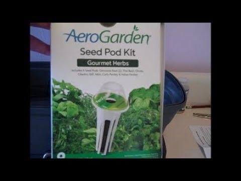 Miracle Gro Aerogarden Bounty Herb Kit Review