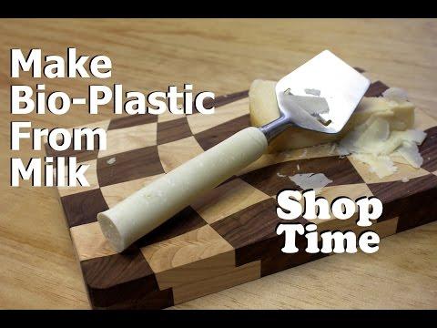 Make Bio-Plastic From Milk