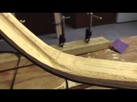 Shaping the Core & Kasan of a Turkish Composite Horn Bow