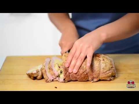Pork Tenderloin with Gluten Free 7-Grain Bread & Apple Stuffing