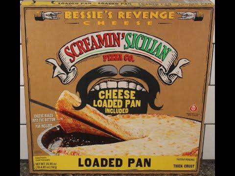 Screamin' Sicilian Pizza Co. Bessie's Revenge Loaded Pan Pizza Review