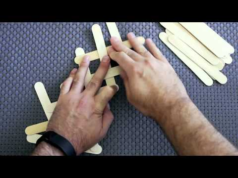 Cobra Weave Popsicle Stick Chain Reaction