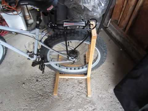 Simple and Inexpensive DIY Fat Bike Stand