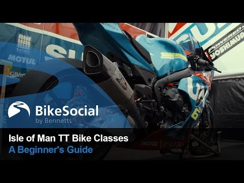 A Beginner's Guide to the Isle of Man TT Bike Classes