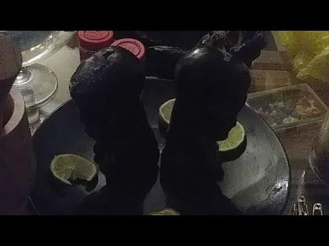 Break Up Spell W Black Skull Candles