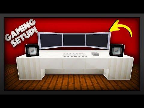 MInecraft -  How To Make A Gaming Setup