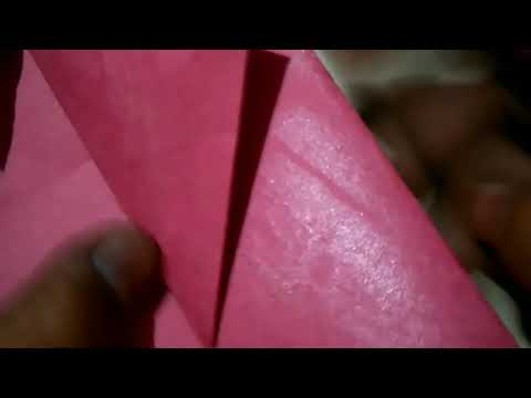 How to make paper bookmark
