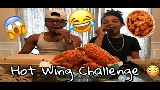 Download Hot Wing Challenge 😳😱 Video