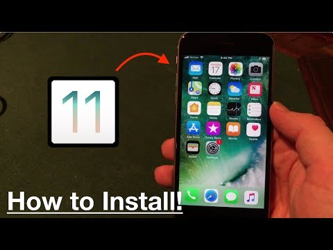 How to Install iOS 11 on iPhone, iPad, or iPod Touch!